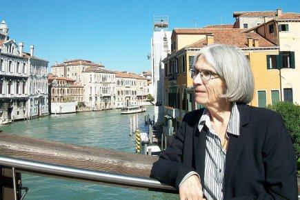 Donna Leon, nacida en New Jersey y residente en Venecia