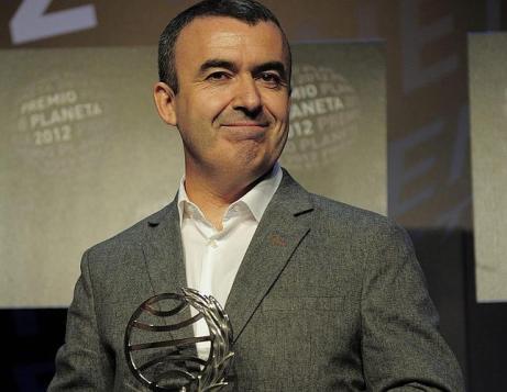 "Lorenzo Silva, Premio Planeta por ""La marca del meridiano"""