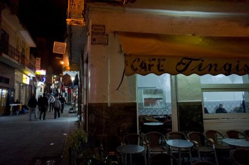 Café Tingis, Tánger