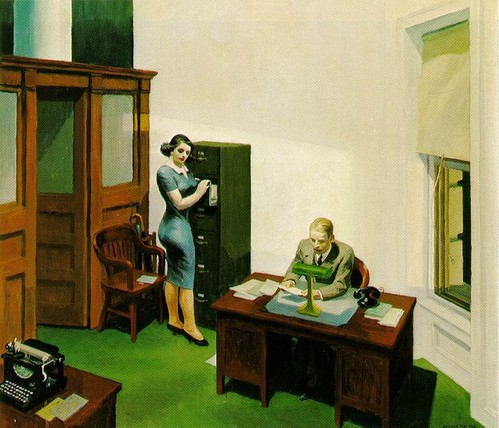 hopper-oficina-de-noche-1940-óleo-sobre-lienzo-56x63cm-coleccion-walker-art-center-mineápolis