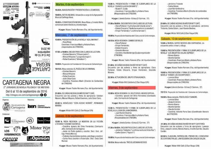 Programa Cartagena Negra 2016