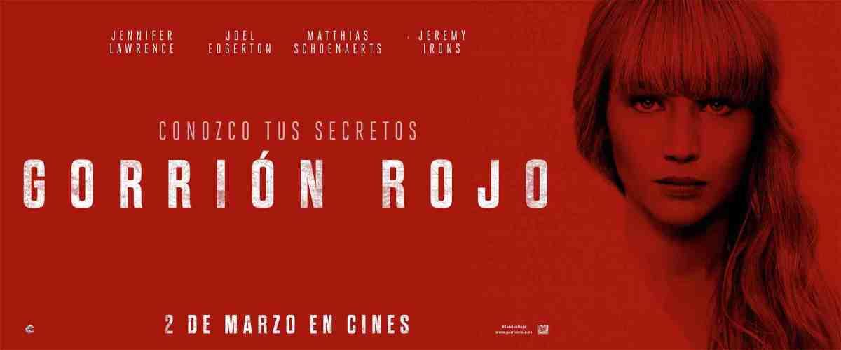"Cine: ""Gorrión rojo"""
