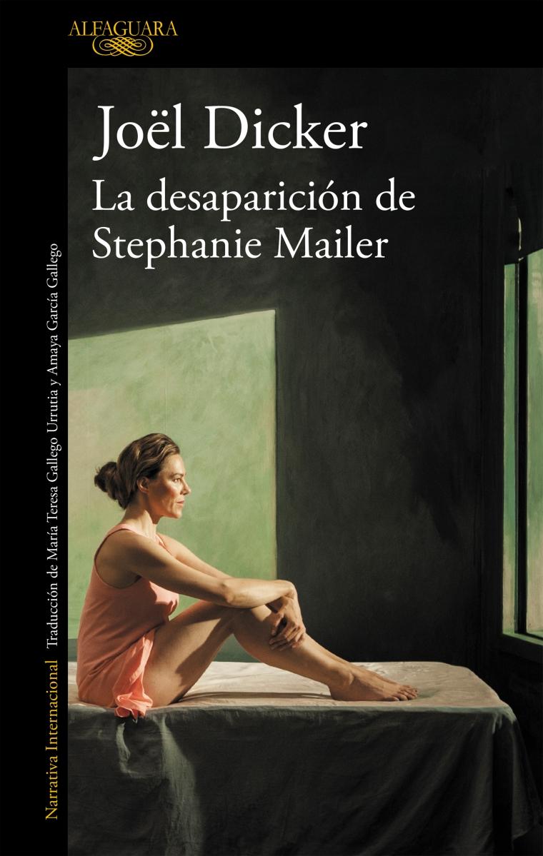 """Novela: """"La desaparición de Stephanie Mailer"""", de Jöel Dicker"""