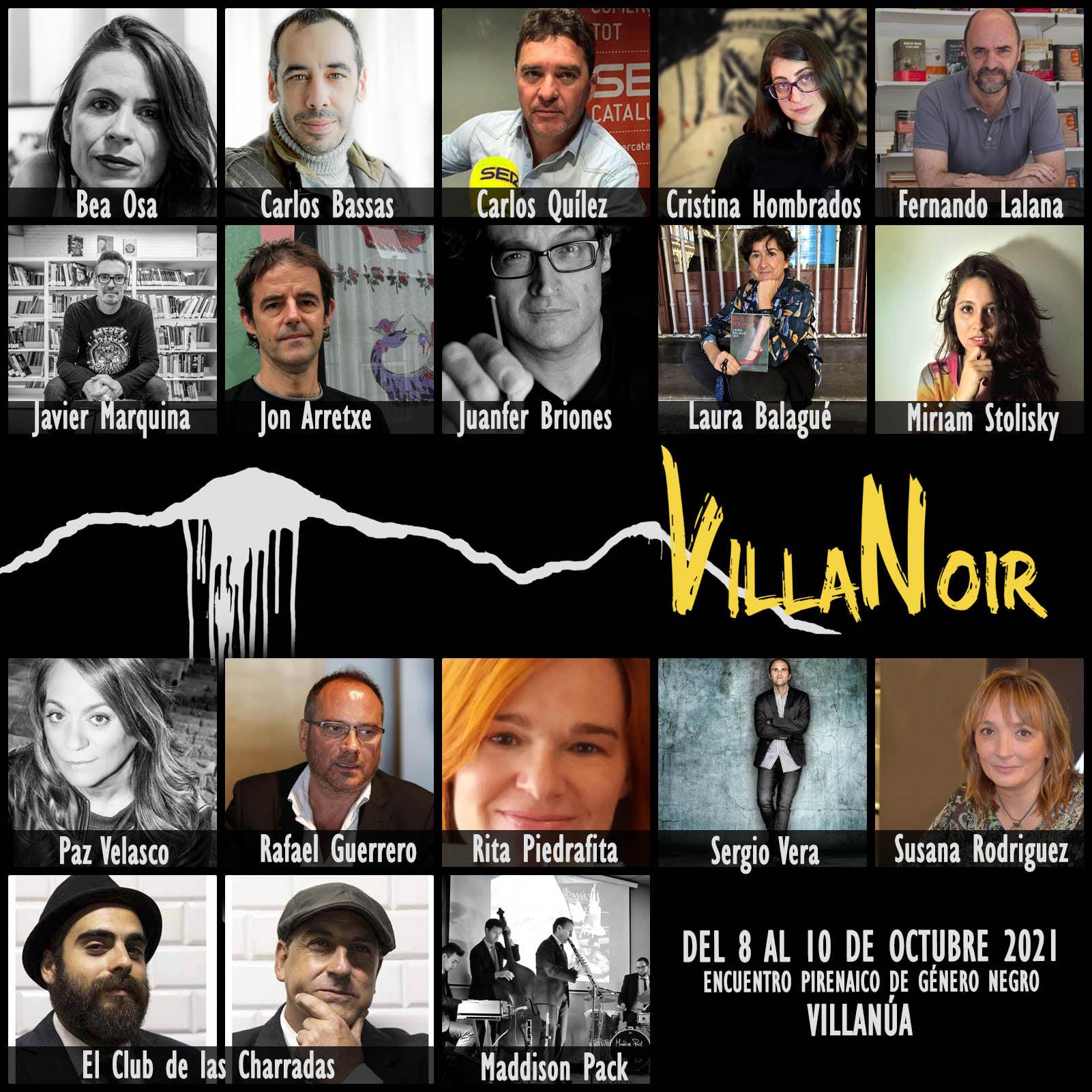 autores VillaNoir 2021